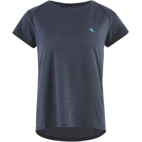 Klättermusen Vile Camiseta Manga Corta Mujer, azul